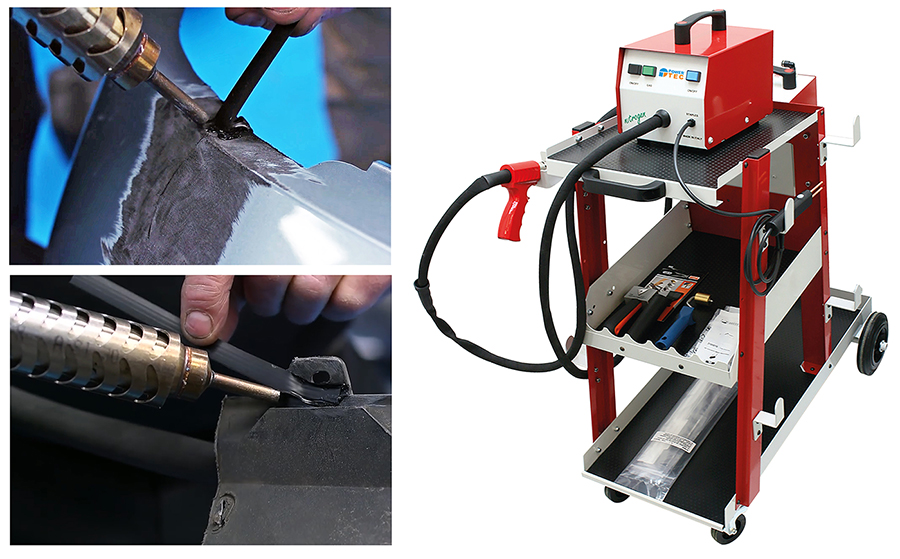 The strongest plastic welding — with the Nitrogen plastic welder from Power-TEC