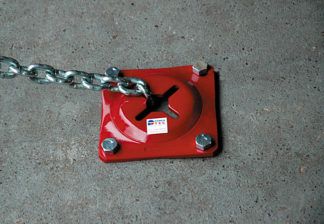 image of Power-TEC | 91108 | Floor Pull Plate