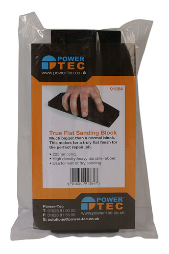 Packaging image of Power-TEC | 91384 | Rubber Sanding Block - Large