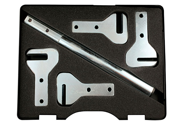 Overhead image of Power-TEC | 91899 | Welded Hinge Adjusting Kit - 4 Head