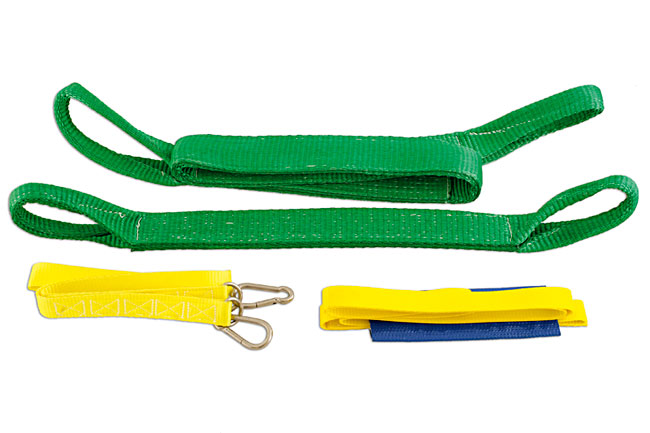 image of Power-TEC | 91916 | Pull Strap Kit 4pc