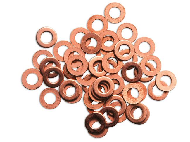 91967 Copper Washers for Tec-Spot Welder 100pc