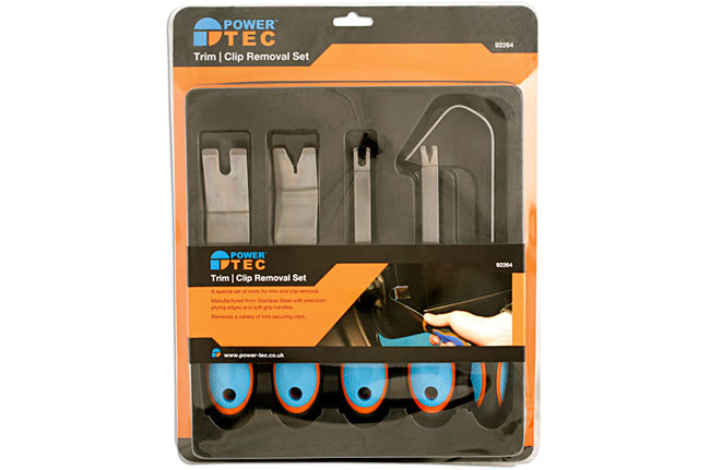 Packaging image of Power-TEC | 92264 | Trim Clip Remover Set 5pc
