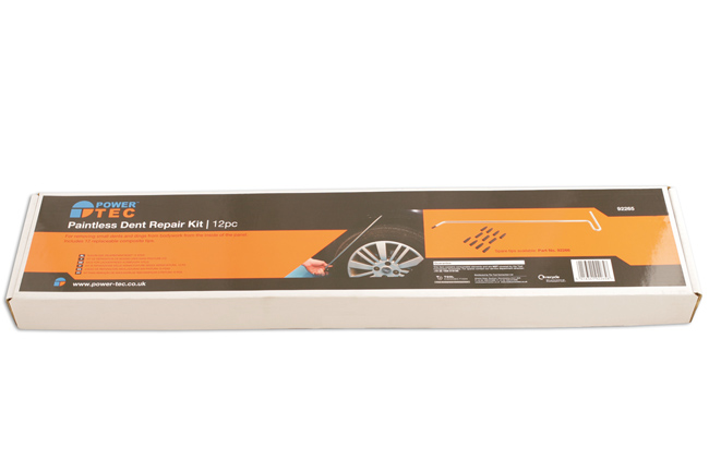 Packaging image of Power-TEC | 92265 | Paintless Dent Repair (PDR) Kit 12pc