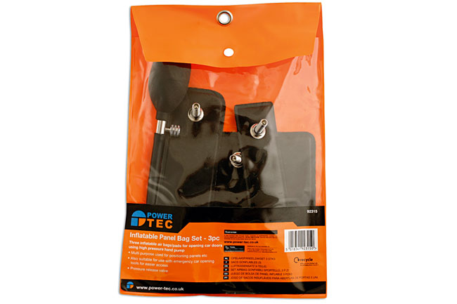 Packaging image of Power-TEC | 92315 | Inflatable Panel Bag Set 3pc