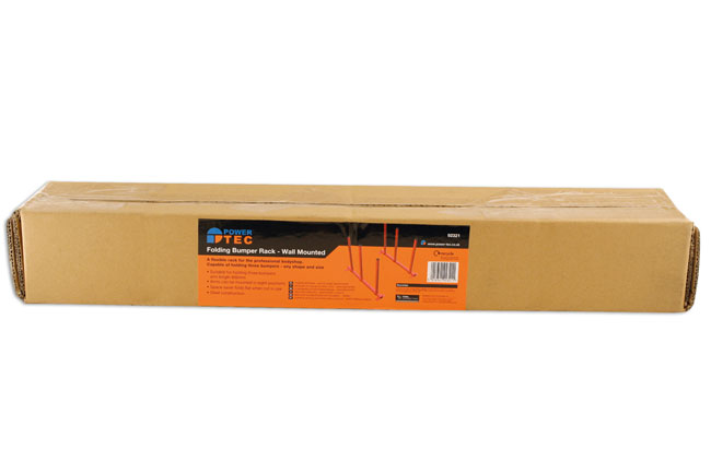 ~/items/xlarge/Packaging image of Power-TEC | 92321 | Folding Bumper Rack - Wall Mounted