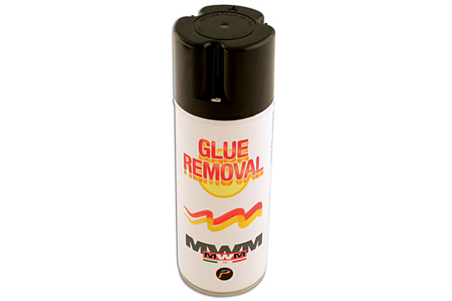 Solvent spray for hotmelt glue part no 92341 part of the glue repair range from power tec - Comment enlever de la colle glue ...
