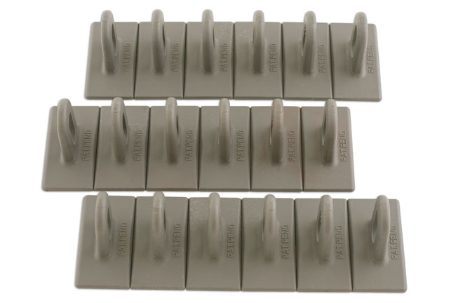 92348 Grey Multipads 6x50 Pack of 3