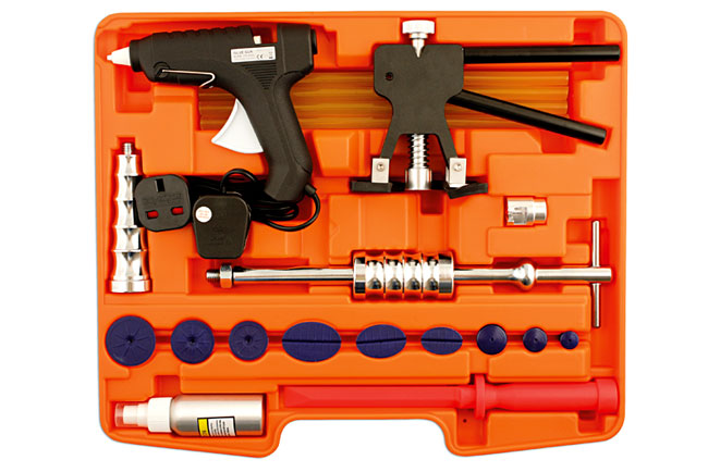 Overhead image of Power-TEC | 92379 | Dent Remover Glue Kit