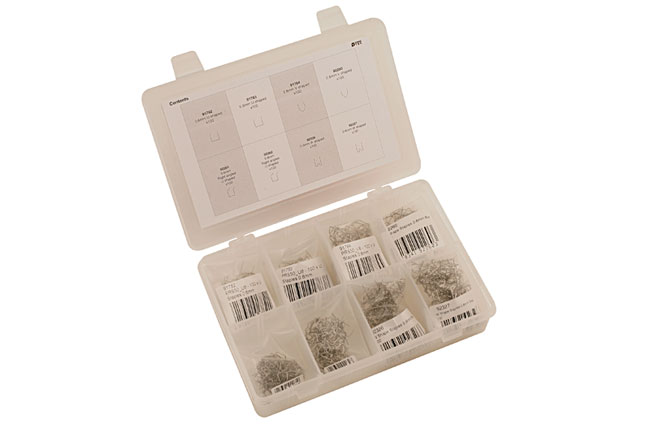 LeftOpen image of Power-TEC | 92382 | Assorted Staples for Hot Stapler - 800pc
