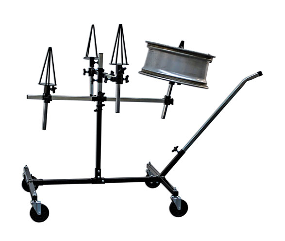 image of Power-TEC | 92398 | Alloy Wheels Repair/Painting Stand