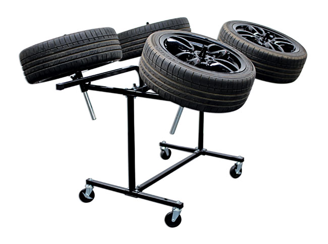 image of Power-TEC | 92417 | Alloy Wheel Painting Stand - Deluxe Heavy Duty