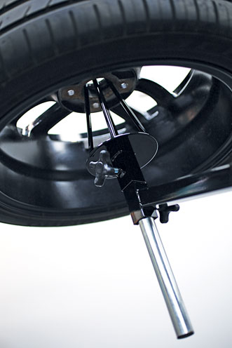 CloseUp image of Power-TEC | 92417 | Alloy Wheel Painting Stand - Deluxe Heavy Duty