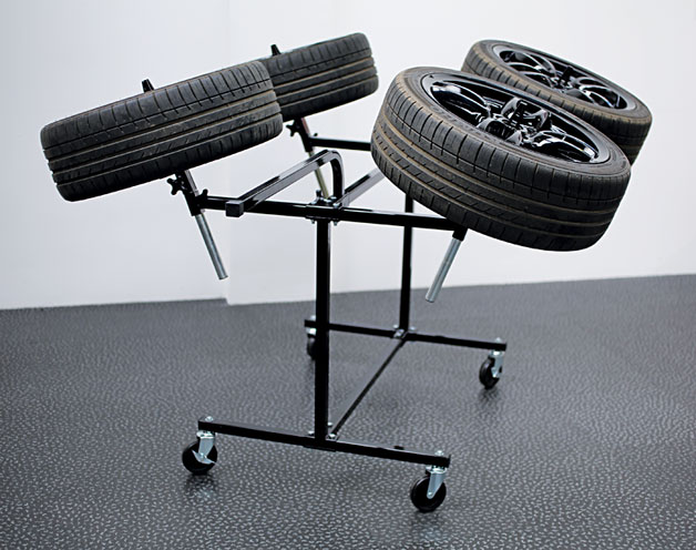 Insitu1 image of Power-TEC | 92417 | Alloy Wheel Painting Stand - Deluxe Heavy Duty