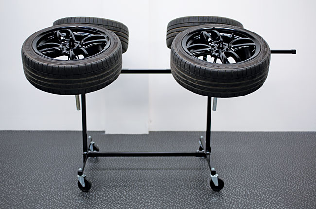 Insitu2 image of Power-TEC | 92417 | Alloy Wheel Painting Stand - Deluxe Heavy Duty