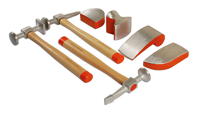 RightProducts image of Power-TEC | 92430 | Aluminium Hammer and Dolly Set 7pc