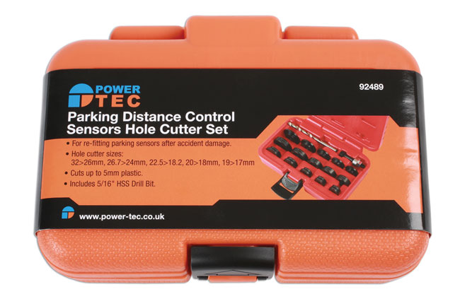 ~/items/xlarge/Packaging image of Power-TEC | 92489 | Parking Distance Control Sensors Hole Cutter Set