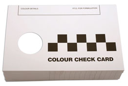 Consumables Colour Matching