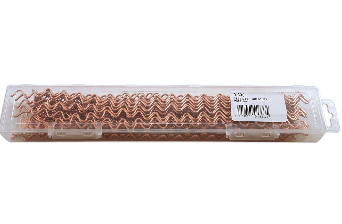 50pc Power-TEC 91333 Squiggly Wire