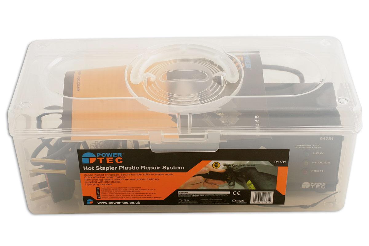Hot Stapler Plastic Repair System | Part No  91781 | Part of the
