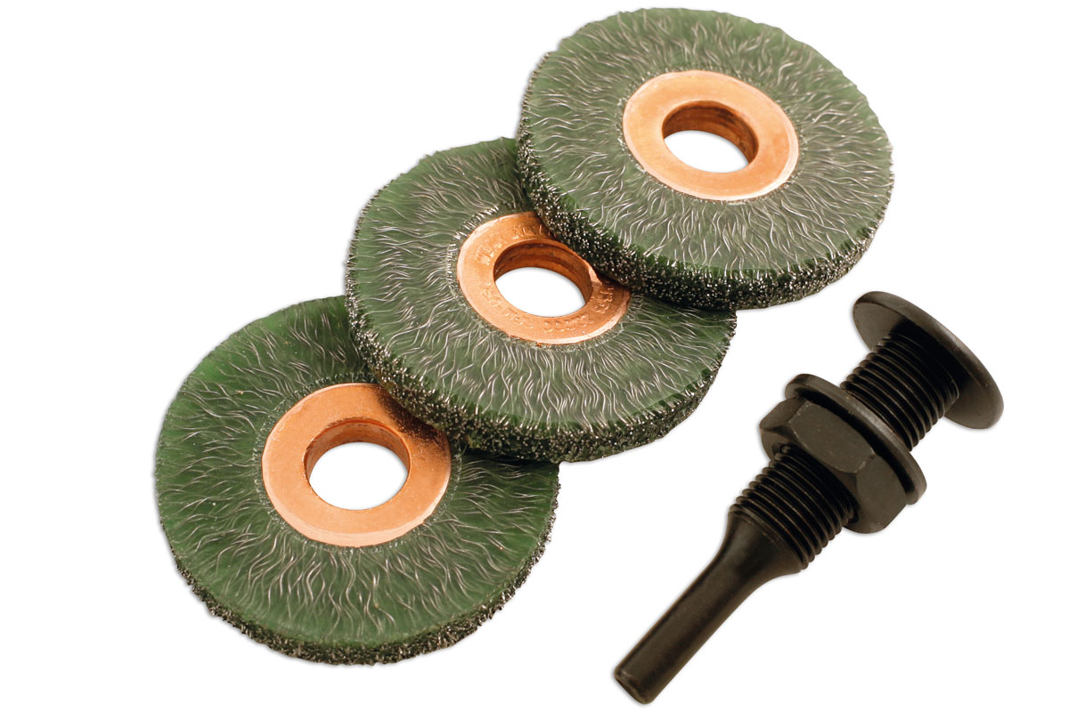 NEW POWER-TEC ARBOR FOR WIRE BRUSH 91497 TOP QUALITY PRODUCT