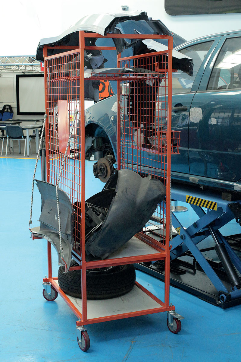 Miracle Body And Paint >> Car Parts Trolley | Part No. 92444 | Part of the Storage range from Power-TEC